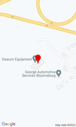 Google Map of Deacon Equipment Company 22 Wedgetown Road, Bloomsburg, PA, 17815