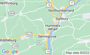 Map of Penn Avon Campground
