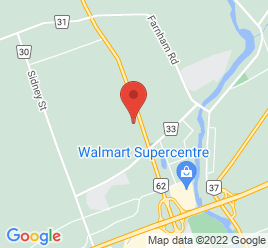 Google Map of 22+Towncentre+Drive%2CBelleville%2COntario+K8N+5B3