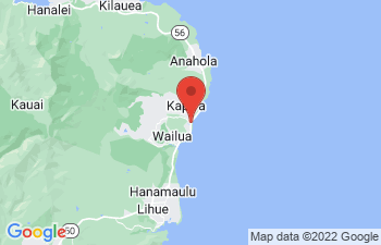 Map of Kapaa