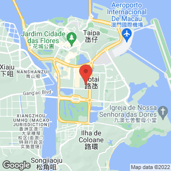 Map of Foot Locker Cotai at Estrada do Istmo, Lote 3, Cotai Strip, Cotai, Macau 999078