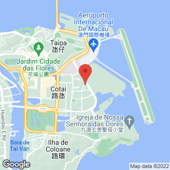 Map of Salvatore Ferragamo at Avenida da Nave Desportiva Cotai, Macau, Macau SAR China