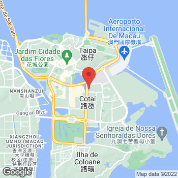 Map of Salvatore Ferragamo at City of Dreams, Estrada do Istmo, Macau, Macau SAR China