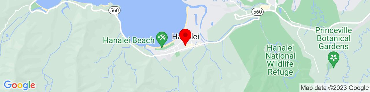 Google Map of 22.2033221, -159.4977455