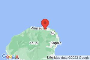 Map of North Shore Kauai