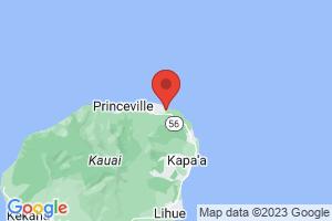 Map of East Kauai - Coconut Coast