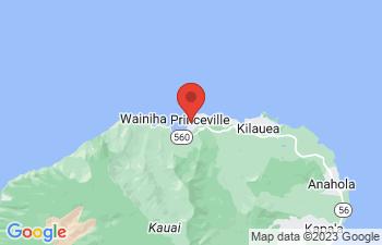 Map of Hanalei Bay