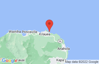 Map of Kilauea Bay