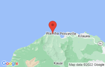 Map of Hanalei Bay