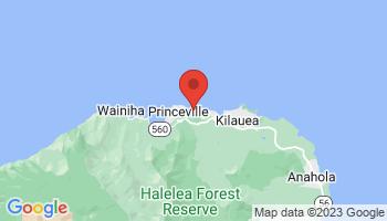 Map of Anini Beach