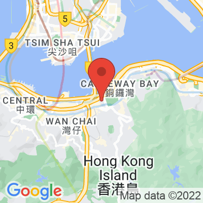 Map showing Elephant Grounds Causeway Bay