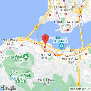 Map of Salvatore Ferragamo at 8 Finance Street, Hong Kong Island, Hong Kong SAR China