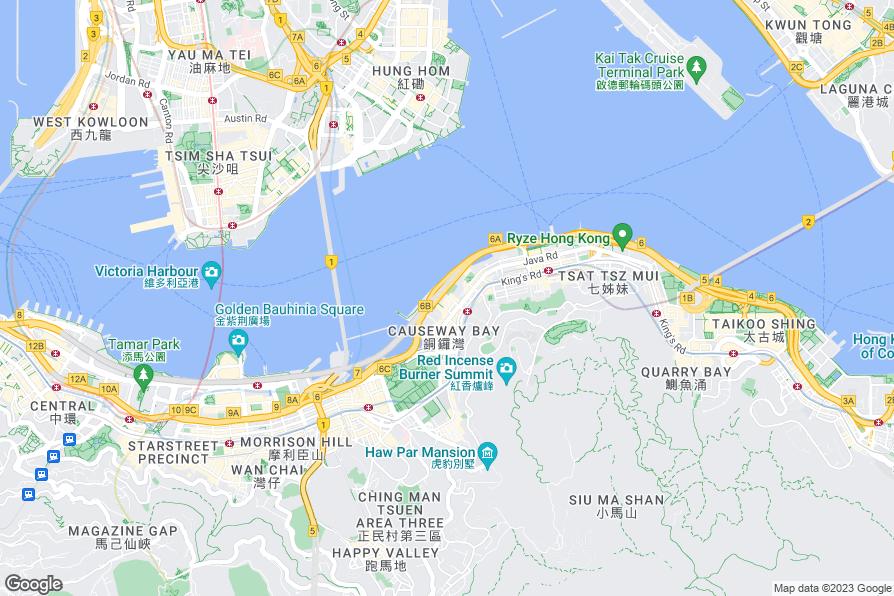 Hotels Near Victoria Harbour Hong Kong