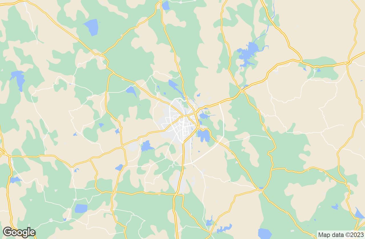 Google Map of Rajkot