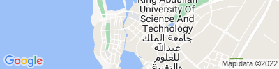 Kaust Operations Map