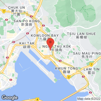 Map of Foot Locker Hong Kong at Telford Plaza 1, 33 Wai Yip Street, Kowloon Bay, 1/F, unit F5 - F7, Hong Kong,