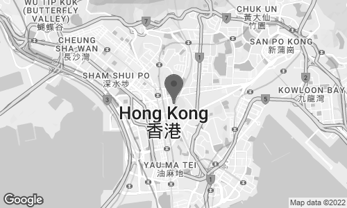 Map of 193 Prince Edward Road West in Kowloon