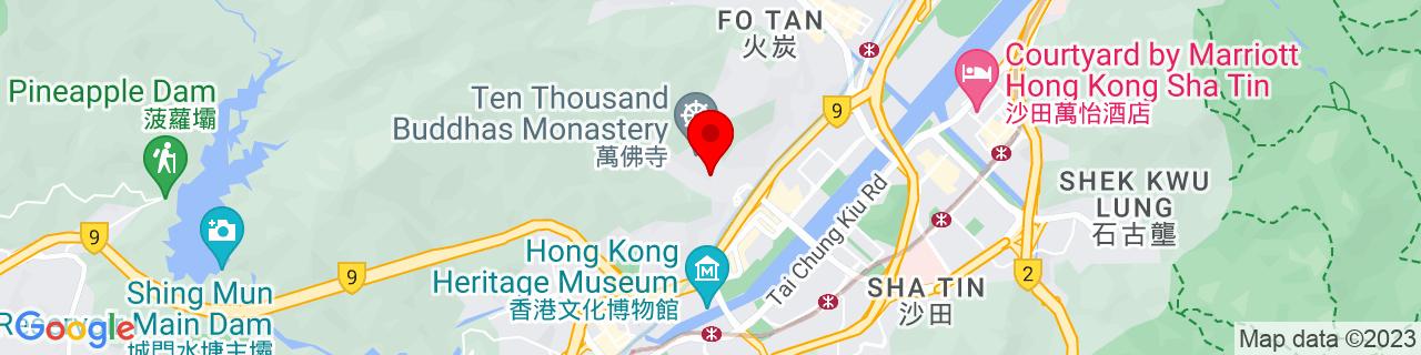 Google Map of 22.386030555555553, 114.18591666666667
