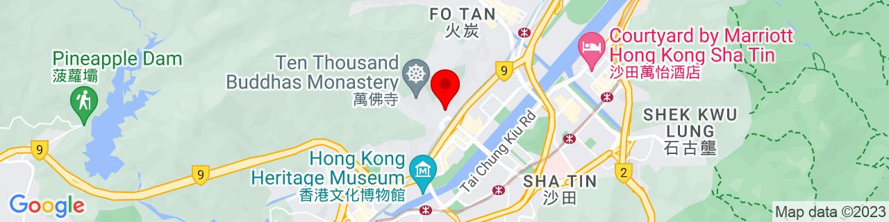 Google Map of 22.38611111111111, 114.18835277777778