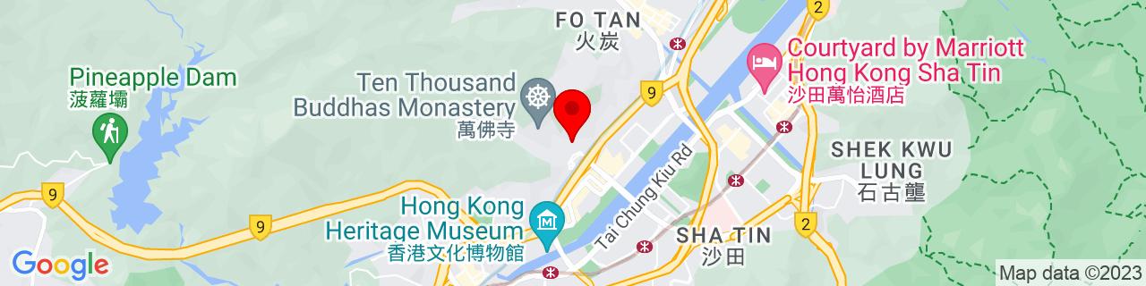 Google Map of 22.386269444444444, 114.18803333333334