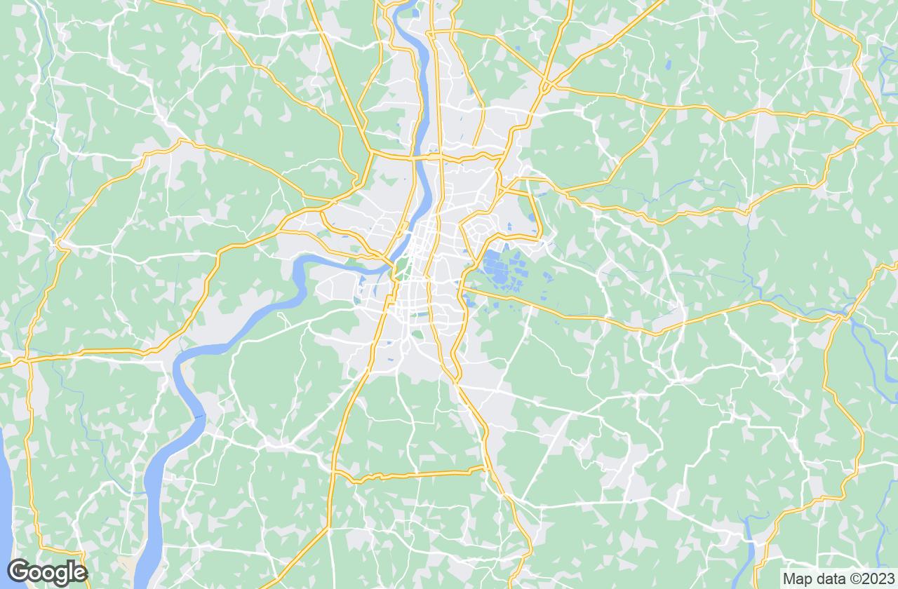 Google Map of Kolkata
