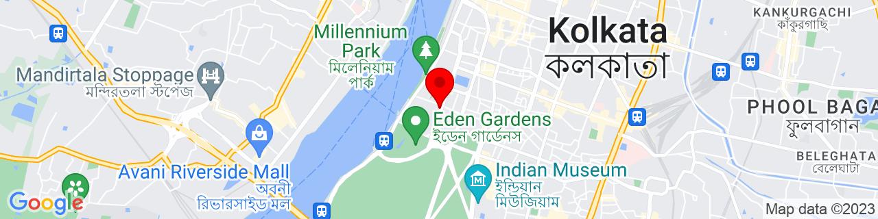 Google Map of 22.568746, 88.3462999