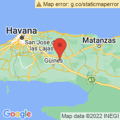 Mayabeque Map