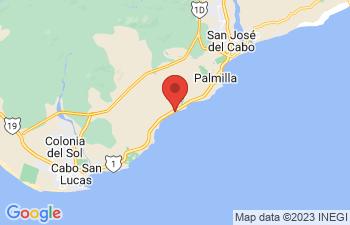 Map of Cabo San Lucas