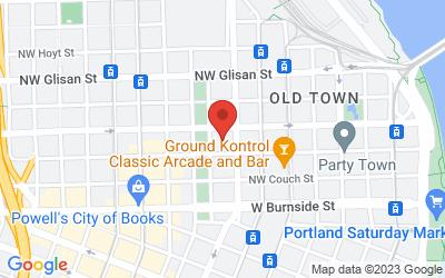 Map of Business address @ WeWork Custom House Building