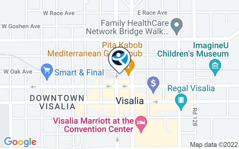 Turning Point of Central CA - VYS North Location and Directions
