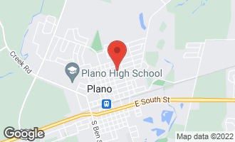 Map of 220 East Park Street PLANO, IL 60545