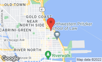 Map of 220 East Walton Place 7E CHICAGO, IL 60611