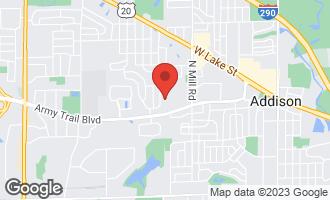 Map of 220 Sunset Lane ADDISON, IL 60101