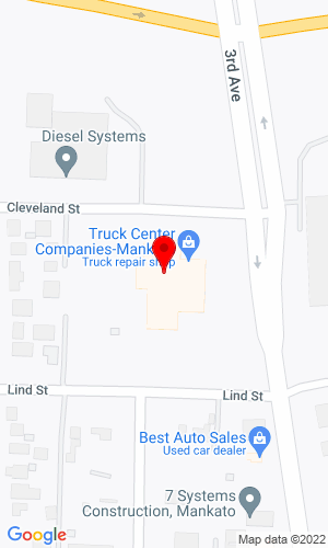 Google Map of Westman Freightliner 2200 4th Avenue North, Mankato, MN, 56001