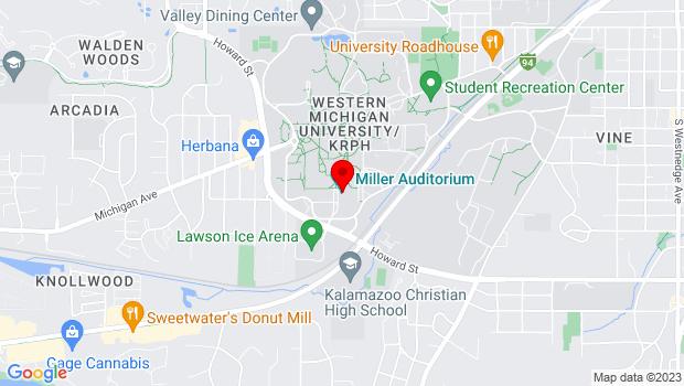 Google Map of 2200 Auditorium Dr, Kalamazoo, MI 49008