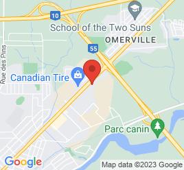 Google Map of 2200+Rue+Sherbrooke%2CMagog%2CQuebec+J1X+4Z6