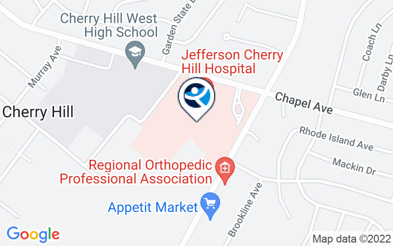 Jefferson Cherry Hill Hospital Location and Directions