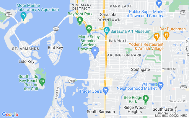 2202 Mcclellan Pkwy Sarasota Florida 34239 locatior map
