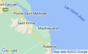 Map of Camping Plage Robertson