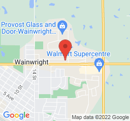 Google Map of 2202+-+14th+Avenue%2CWainwright%2CAlberta+T9W+1L2