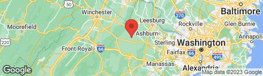 Map of 22086 WAVERLY HEIGHTS LANE MIDDLEBURG, VA 20117