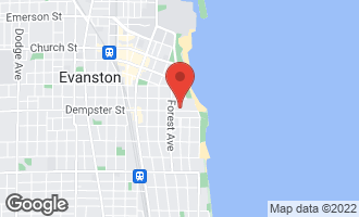 Map of 221 Dempster Street EVANSTON, IL 60201
