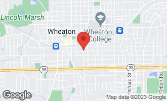 Map of 221 South Naperville Road Wheaton, IL 60187