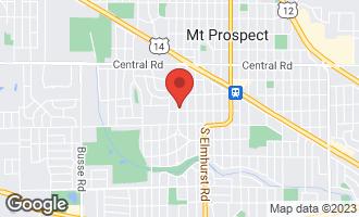 Map of 221 South Wa Pella Avenue MOUNT PROSPECT, IL 60056