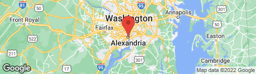 Map of 221 ST ASAPH STREET N ALEXANDRIA, VA 22314