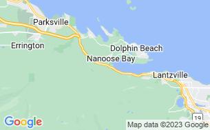 Map of Nanoose Creek Campground