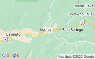 Map of Lumby Lions Campground