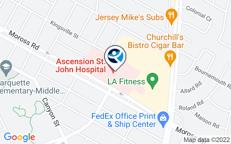 Ascension Eastwood Behavioral Health - Moross Location and Directions
