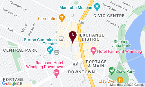 map of WAREHOUSE ART WORKS