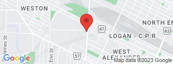 Google Map of 222+McPhillips+Street%2CWinnipeg%2CManitoba+R3E+2J9